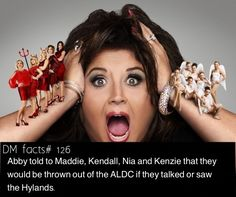 Dance moms facts by dance moms fan page . . . . Hyland facts spam! More coming