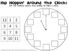 Classroom Freebies: How Do You Teach Time? Come Hip Hop Around the Clock with Me! Classroom Freebies, Math Classroom, Kindergarten Math, Preschool, Classroom Ideas, Teaching Time, Student Teaching, Teaching Spanish, Math Resources