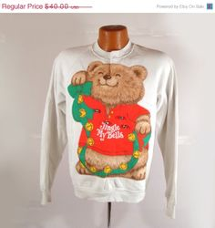 Ugly Christmas Sweater Vintage Sweatshirt by purevintageclothing, $32.00
