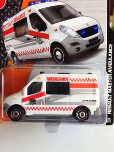 MatchBox: Renault Master Ambulance MBX Heroic Rescue