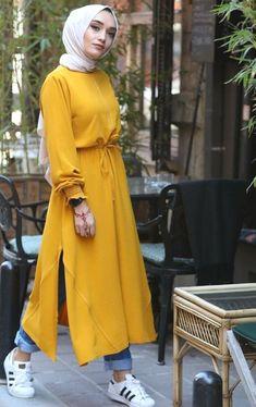 Source by fashion hijab Modest Fashion Hijab, Hijab Style Dress, Modern Hijab Fashion, Casual Hijab Outfit, Hijab Fashion Inspiration, Hijab Chic, Abaya Fashion, Muslim Fashion, Fashion Dresses