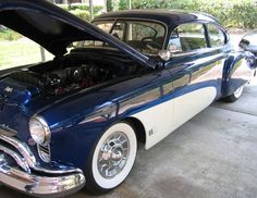 Oldsmobile 88 2-dr Sedanette Oldsmobile 88, Buick, Cadillac, Specs, Chevy, Classic, Car, People, Photos