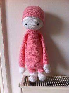 lalylala doll made by Taylor B. / crochet pattern by lalylala