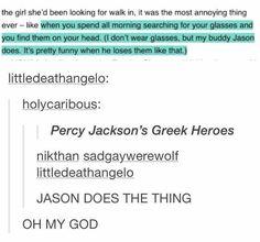 Percy Jackson, Jason Grace