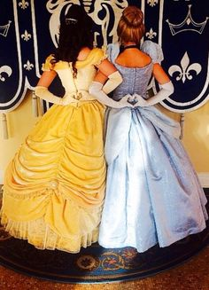 It's u and me if we were princesses