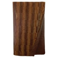 Wooded River Beaver Fur Throw
