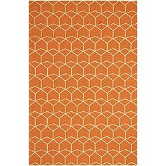 @Overstock - Add some comfort to your home with this hand-hooked indoor/outdoor rug. Use it outside to warm up deck flooring or patio cement, or place it inside for a decorative accent. The design inspired by Spanish architecture will add style to any room.http://www.overstock.com/Home-Garden/Hand-hooked-Rug-3-6-x-5-6/6433809/product.html?CID=214117 $103.99