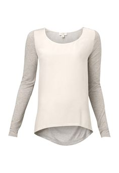 Long sleeve Spliced Tee from Witchery