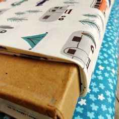 Organic Happy Campers - Fat Quarter - New Circa 60 by Birch Fabrics Campground