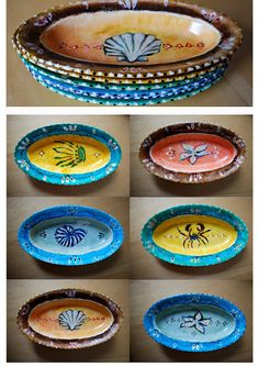 *Minä-Teen itse*: Maalattuja Lautasia, painted platters