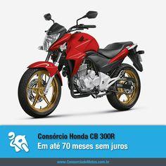 Compre sua Honda CB 300R por meio do Consórcio de Motos e aproveite todas as vantagens exclusivas da modalidade: https://www.consorciodemotos.com.br/noticias/honda-cb-300r-em-ate-70-meses-sem-juros?idcampanha=288&utm_source=Pinterest&utm_medium=Perfil&utm_campaign=redessociais