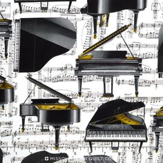 The Music In Me - Piano Solo White Yardage