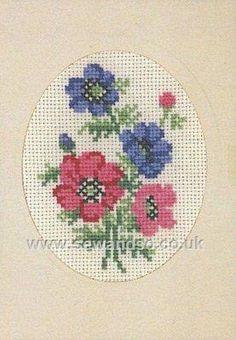 Buy+Anemones+Greeting+Card+Cross+Stitch+Kit+Online+at+www.sewandso.co.uk