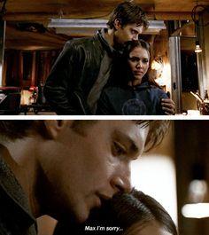 [gifset] Jensen as Alec McDowell and Max Guevara (Alba) in Dark Angel (S2) #Jensen