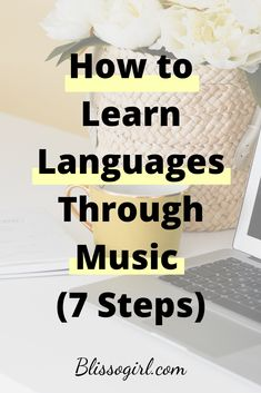 Today I wanted to share with you some strategies or activities you can do to learn and practice vocabulary and sentences patterns in your target language, using music. Learn Another Language, Learning A Second Language, German Language Learning, Language Study, Learning Music, Listening Activities, Foreign Language Teaching, Greek Language, Spelling Activities
