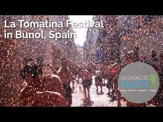 La Tomatina Festival in Bunol, Spain