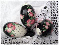 IMG_2600aa (700x535, 331Kb) Easter Egg Designs, Egg Crafts, Christmas Art, Tricks, Easter Eggs, Stones, Decor, Easter Activities, Rocks