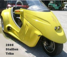 The 2008 Stallion Trike for sale is a Thorobred trike motorcycle with a bright yellow paint color and low mileage of miles on it. Black Cherry Color, Yellow Paint Colors, Reverse Trike, Trike Motorcycle, Used Motorcycles, Bikes For Sale, Mini Bike, Mark Twain, Biker Girl