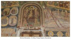 St. Mary - Slivnica Monastery in Prespa Region - Macedonia Postcards