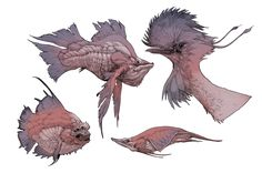 Fish-n-Bird by Stephen-0akley.deviantart.com on @deviantART
