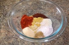 """The ingredients to make Busy-at-Home's favorite """"cheesy"""" Taco Seasoning. It's gluten-free, dairy-free and soy-free, plus it's packed with vitamins, minerals and nutrients.  Did I mention it's like no other taco seasoning you've ever tasted?  :)  DELISH!"""