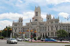 Plaza de Cibeles #madrid #espanja #spain