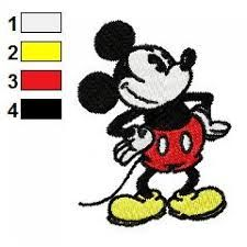 Image result for free machine embroidery designs mickey mouse