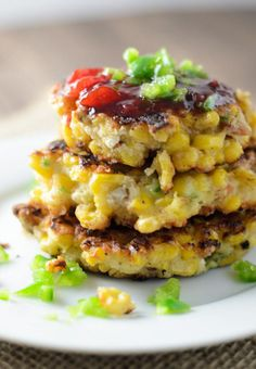 Corn Fritters |Pantry Full of Recipes More