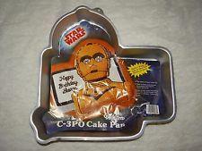 Wilton Cake Pan Treat Star Wars C-3PO Mold Birthday