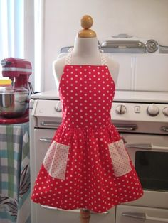 Red n White Polka Dot