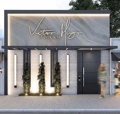 Signage Design, Facade Design, Exterior Design, Retail Facade, Shop Facade, Front Door Design Wood, Entrance Design, Cafe Shop Design, Jewelry Store Design
