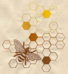 Sweet as Honey | Urban Threads: Unique and Awesome Embroidery Designs