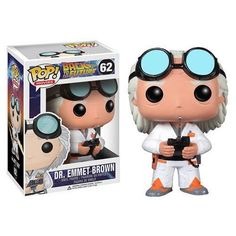 10016580 BACK TO THE FUTURE DOC BROWN POP! VINYL FIGURE