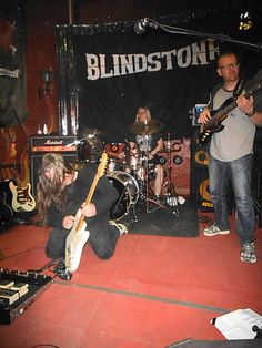 BLINDSTONE en LA GRAMOLA  - MAYO 2015 - www.lagramola.com
