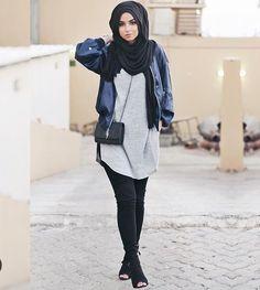 รูปภาพ beauty, hijab, and style
