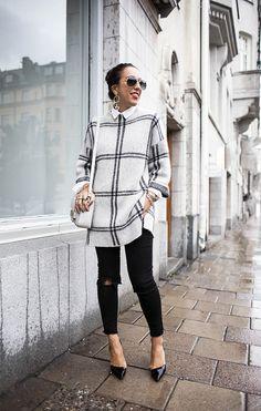 Sania Claus Demina / plaid & a single // #Fashion, #FashionBlog, #FashionBlogger, #Ootd, #OutfitOfTheDay, #Style
