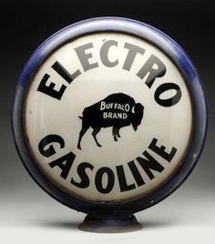 "Electro ""Buffalo Brand"" 15"" Single Globe Lens."