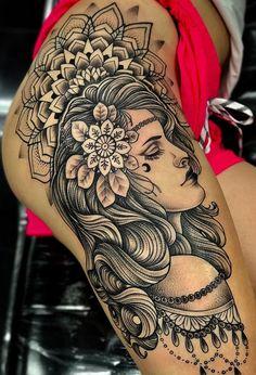 theigh tattoos, leg tattoos women и Hip Thigh Tattoos, Full Leg Tattoos, Sleeve Tattoos For Women, Sexy Tattoos, Cute Tattoos, Beautiful Tattoos, Body Art Tattoos, Girl Tattoos, Female Thigh Tattoos