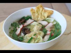Recipe: Wonton Noodle Soup – Mì hoành thánh