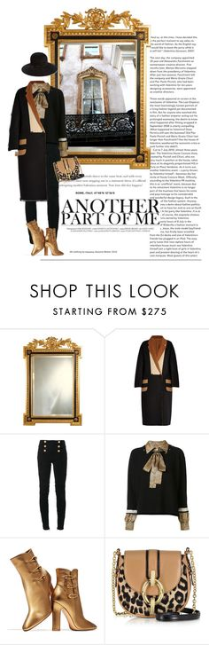 """""""Another"""" by seafreak83 ❤ liked on Polyvore featuring MaxMara, Balmain, Sonia Rykiel, Gianvito Rossi, Diane Von Furstenberg and Eric Javits"""