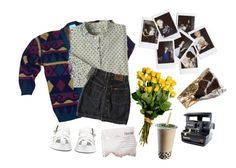 **a constellation beautiful and new** by stelthomas on Polyvore featuring polyvore, Dr. Martens, Nasty Gal, Polaroid, fashion, style and clothing