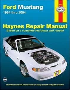 Shop Service Garage Book pf Haynes Repair Manual for 2005-2014 Ford Mustang
