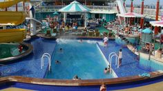 Norwegian Gem pool area   (Joe Cruz photo).