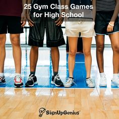 25 Gym Class Games for High School 25 Gym Class Games for High School<br> Put the fun back into gym class with these fun and interactive games for teaching basketball, soccer, football, volleyball and more! Physical Activities For Kids, Gym Games For Kids, Elementary Physical Education, Pe Activities, High School Activities, Pe Games, Class Games, Summer Camps For Kids, Preschool Games