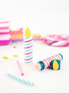 DIY: Birthday Candle Lip Balm Printables | Julep