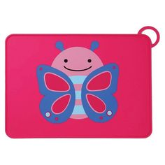 Complete your Zoo feeding collection with a matching kids placemat!<br><br>Made of food-grade, satin-touch silicone, our portable kids' placemat has a non-slip surface and built-in loop closure.  Just roll the mat up, fold it in half, then wrap the loop around so it won't unfold in your bag. Featuring our signature Zoo characters, it's made of food-grade, satin-touch silicone and has a raised edge to catch spills.<br><br>Product Features:<br>&am...