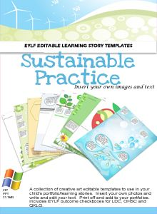 Programming and planning resources and ideas for Early Childhood - Sustainable Practice EYLF Pack
