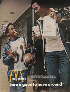 "McDonald's Ad ""Sure is good to have around"" 