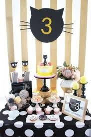 Resultado de imagem para cat party theme