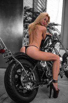 Babes On Motorcycles By Razin Cane
